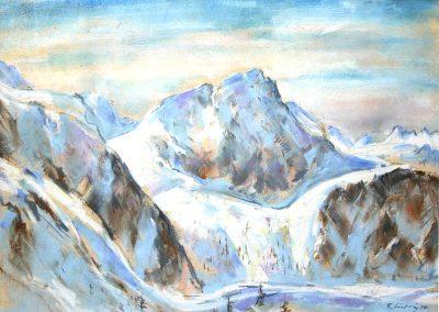 Blaue Berge