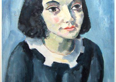 Mädchen (Anne Frank?)